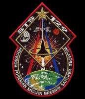 NASA STS-129 Atlantis Space Mission Patch